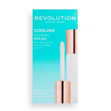 Revolution Skincare - Contorno de ojos en gel refrescante Cooling Cucumber