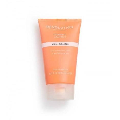 Revolution Skincare - Crema limpiadora iluminadora con vitamina C