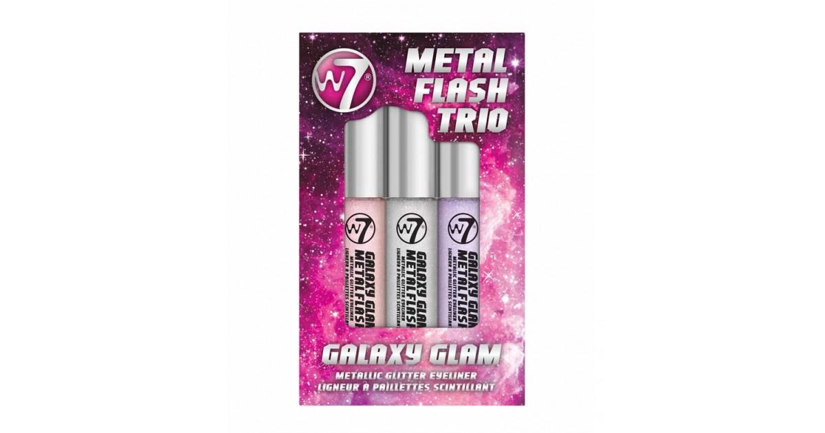 W7 - Trío de delineadores Metal Flash - Galaxy Glam
