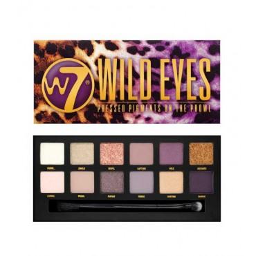 W7 - Paleta de sombras Wild Eyes