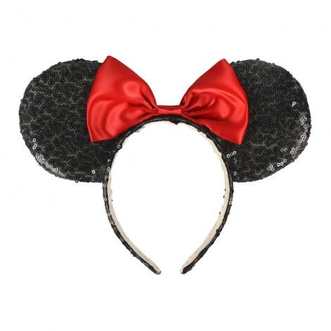 Disney - Diadema Minnie Premium con lentejuelas
