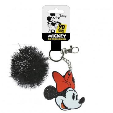 Disney - Minnie - Llavero Acrílico Pompón Premium
