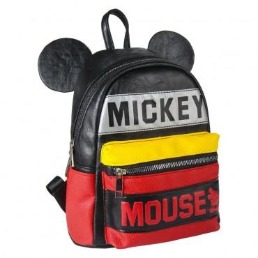Disney - Mickey - Mochila Moda Polipiel