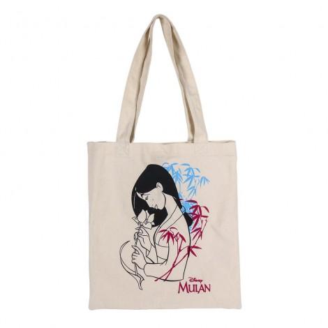 Disney - Mulán - Bolsa de asas de algodón