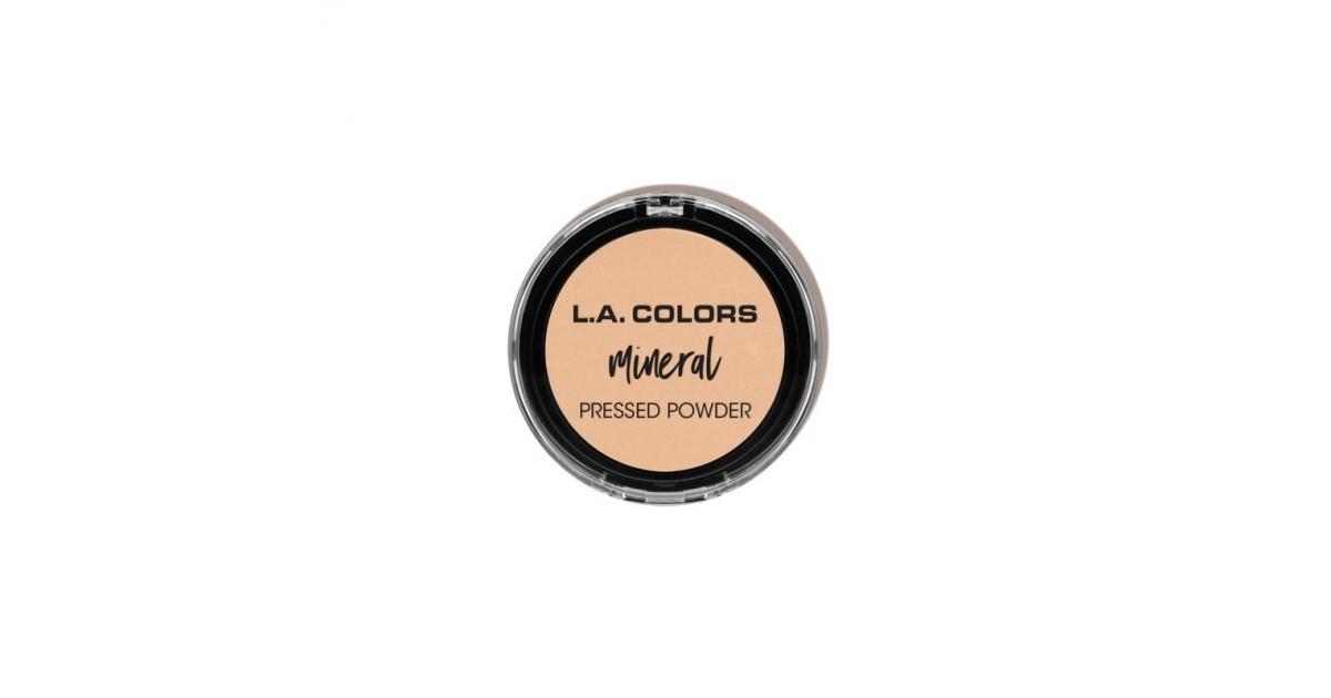 L.A. Colors - Mineral Pressed Powder- Fair