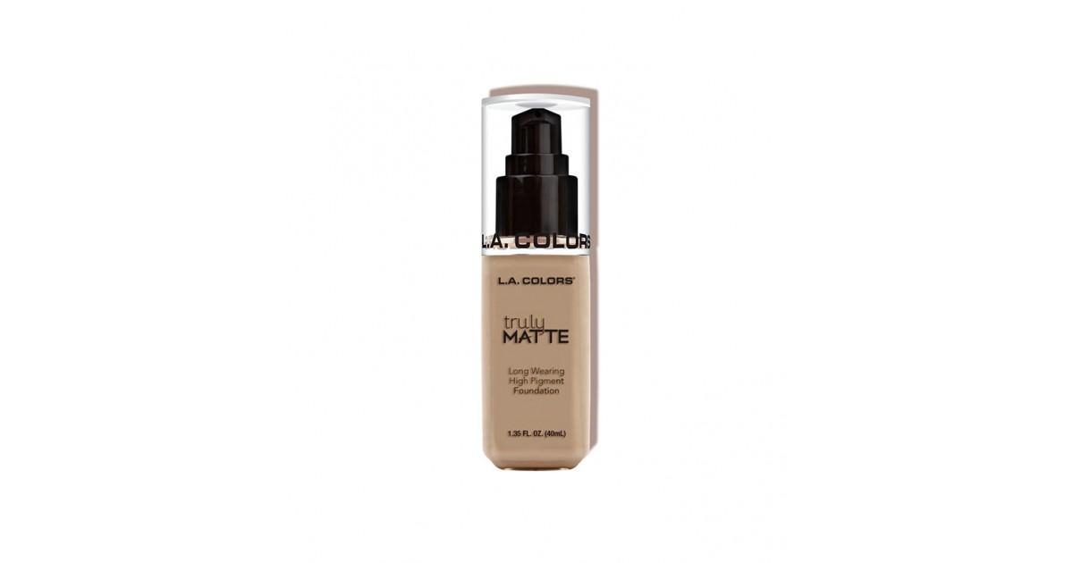 L.A. Colors - Truly Matte Liquid Makeup - Medium Beige