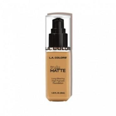 L.A. Colors - Truly Matte Liquid Makeup - Golden Beige