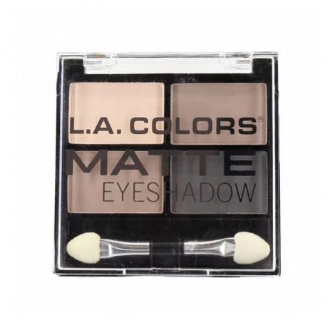 L.A. Colors - Paleta de sombras de ojos Matte - Matterrific