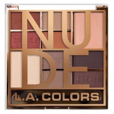 L.A Colors - Paleta de sombras de ojos Color Block - CES135 Nude