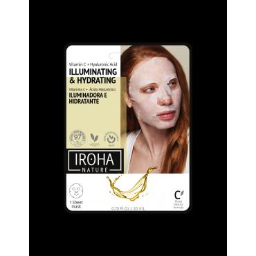 Iroha - Mascarilla Facial con Vitamina C Pura y AH -...