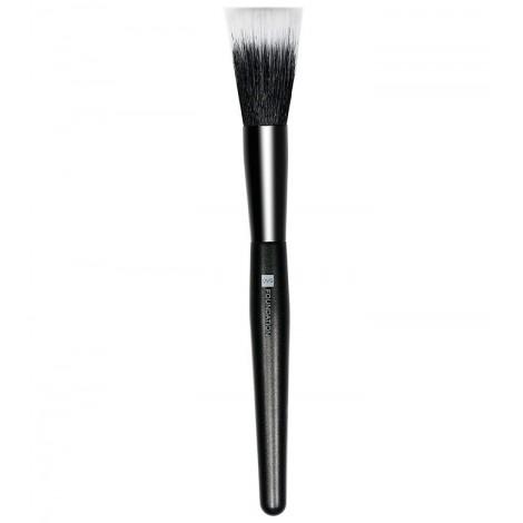 QVS - Brocha maquillaje dúo fibra