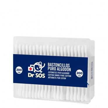 Dr. SOS - Bastoncillos Algodón - 200uds.