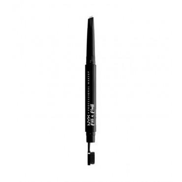 Nyx Professional Makeup - Lápiz para cejas Fill & Fluff - Clear