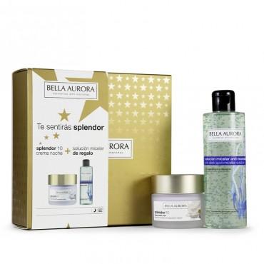 Bella Aurora - Pack Splendor 10 - Crema Noche + Micelar