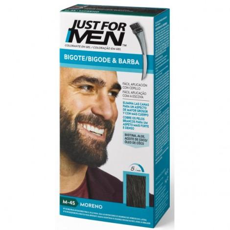 Just For Men - Colorante en Gel para Barba y Bigote - Moreno