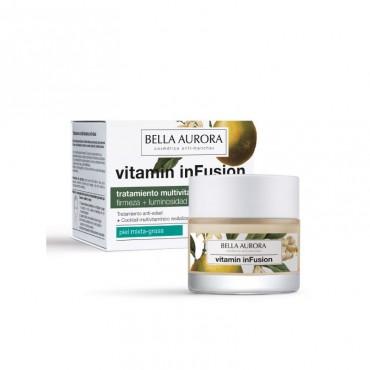 Bella Aurora -Tratamiento Multivitaminico Antiedad Día - Piel Mixta/Grasa - 50ml