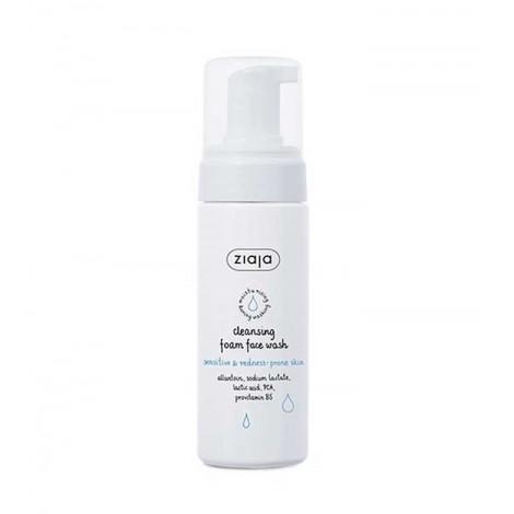 Ziaja - Limpiador Facial En Espuma - Piel Sensible y Con Rojeces - 150ml