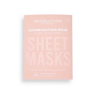 Revolution Skincare - Pack de 3 mascarillas para pieles mixtas