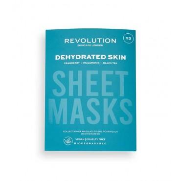 Revolution Skincare - Pack de 3 mascarillas para pieles deshidratadas
