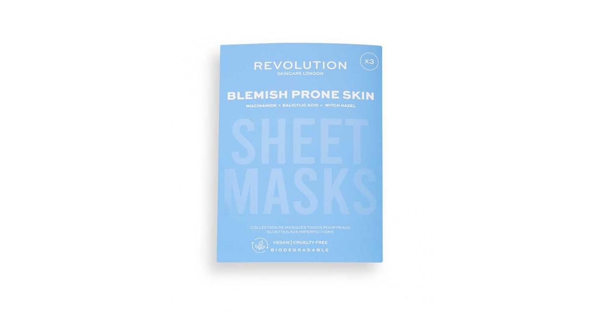 Revolution Skincare - Pack de 3 mascarillas para pieles con manchas