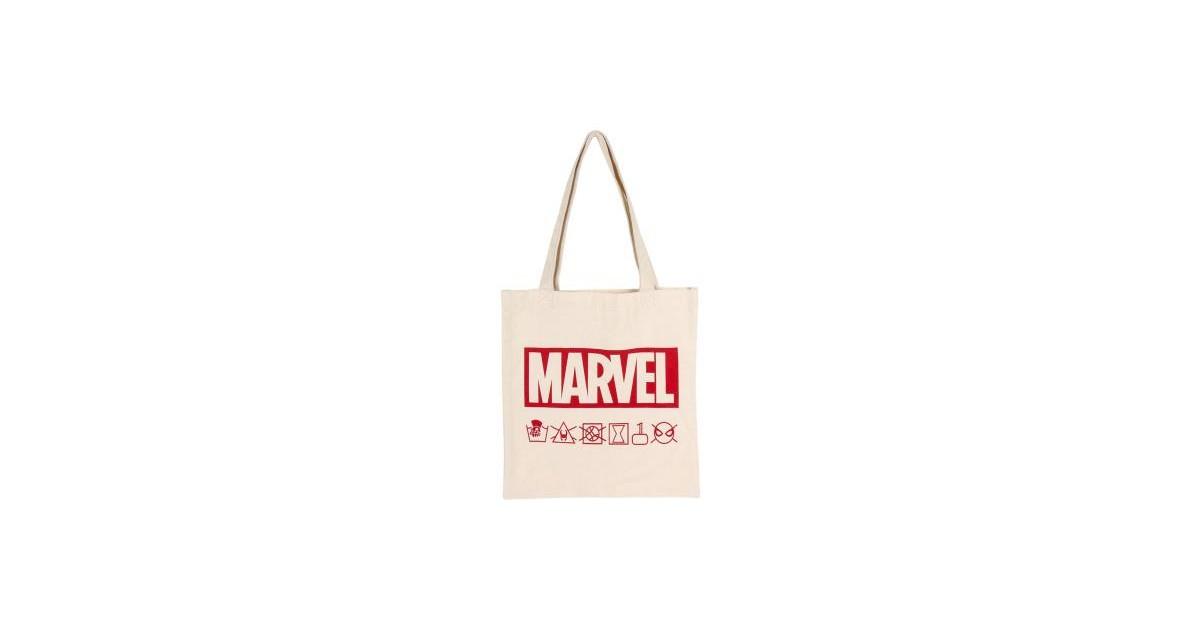 Disney - Marvel - Bolsa de asas de algodón