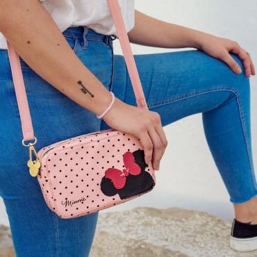Disney - Minnie - Bolso Bandolera Polipiel