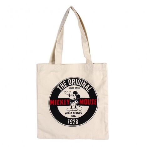 Disney - Mickey - Bolsa de asas de algodón Original