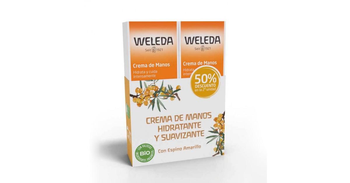 Weleda - Pack Crema de Manos - Espino Amarillo
