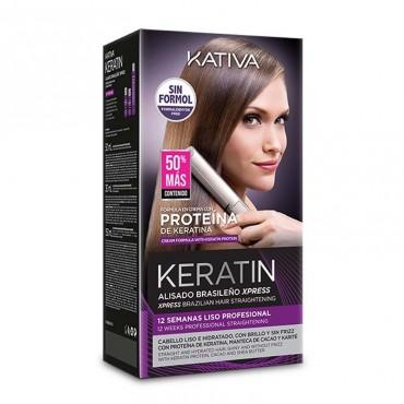 Kativa - Keratin Alisado Brasileño Express - 150ml