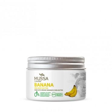 Mussa Canaria - Karité, Cacao y Plátano Ecológico de Canarias - Manteca Corporal - 70ml