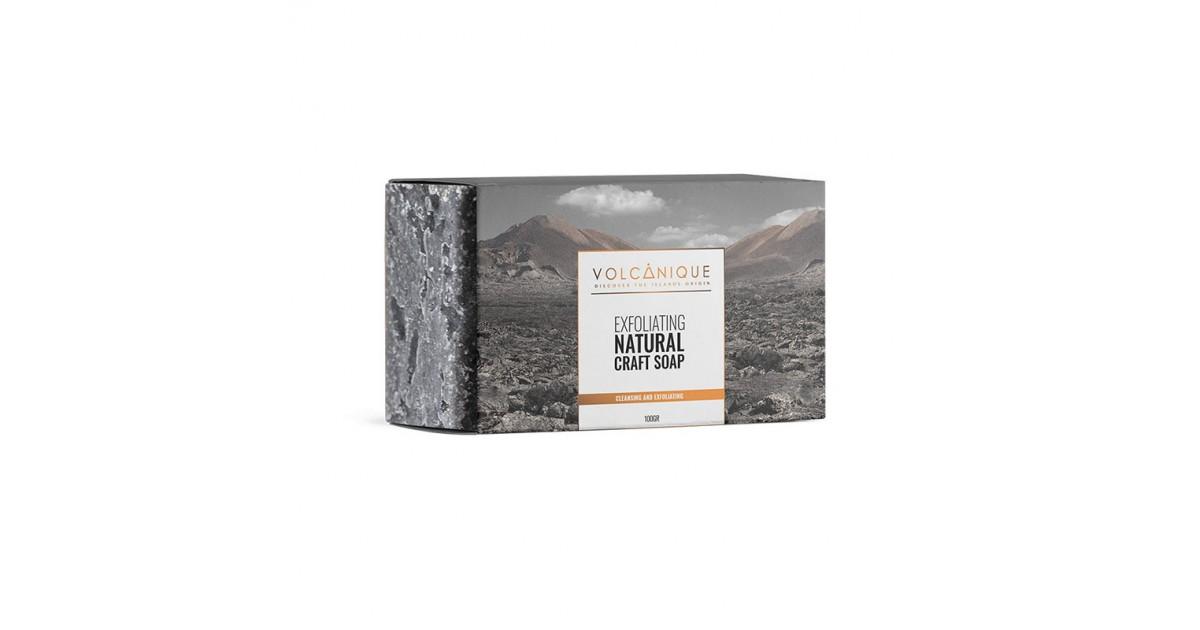 Mussa Canaria - Ceniza Volcánica - Jabón Exfoliante - 100gr