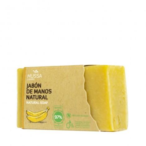Mussa Canaria - Plátano Ecológico de Canarias - Jabón Artesano - 100gr