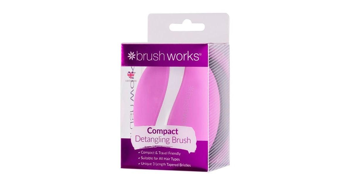 Cepillo desenredante compacto - Brushworks
