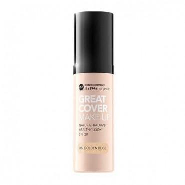 Great Cover Base de Maquillaje Hipoalergénica SPF20 - 05 Golden Beige - Bell