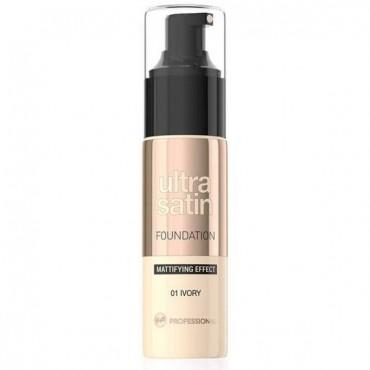 Ultra Satin Base de Maquillaje Matificante 01 Ivory - Bell