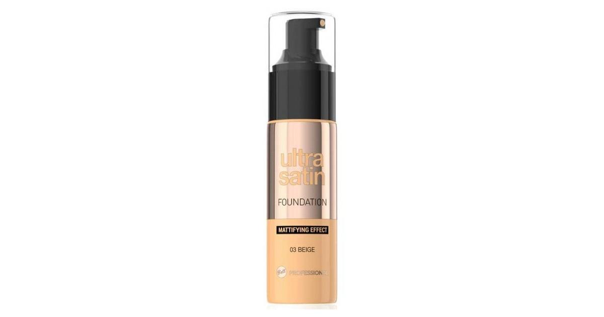 Ultra Satin Base de Maquillaje Matificante 03 Beige - Bell