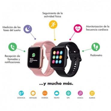 SmartWatch Reloj Fitness & Health - Rosa