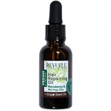 Aceite capilar regenerador con Extractos de Moringa y Macadamia - Vegan & Organic