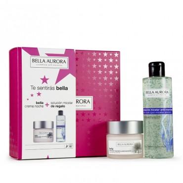 Bella Aurora - Pack Bella Noche - Crema Noche + Agua Micelar
