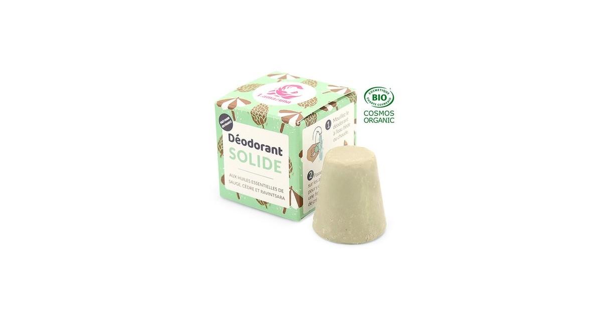 Desodorante Sólido - Amaderado con Salvia y Cedro