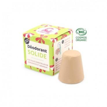 Desodorante Sólido - Bergamota y Geranio