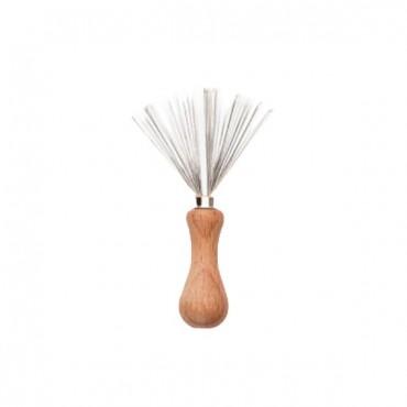 Limpiador de peines y cepillos - Metal