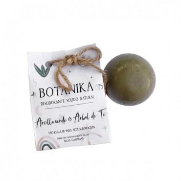 Desodorante Sólido Artesano - Arcilla Verde