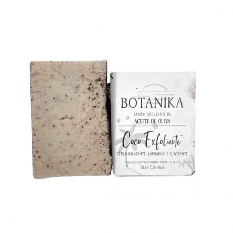 Jabón Sólido Artesano Exfoliante - Coco