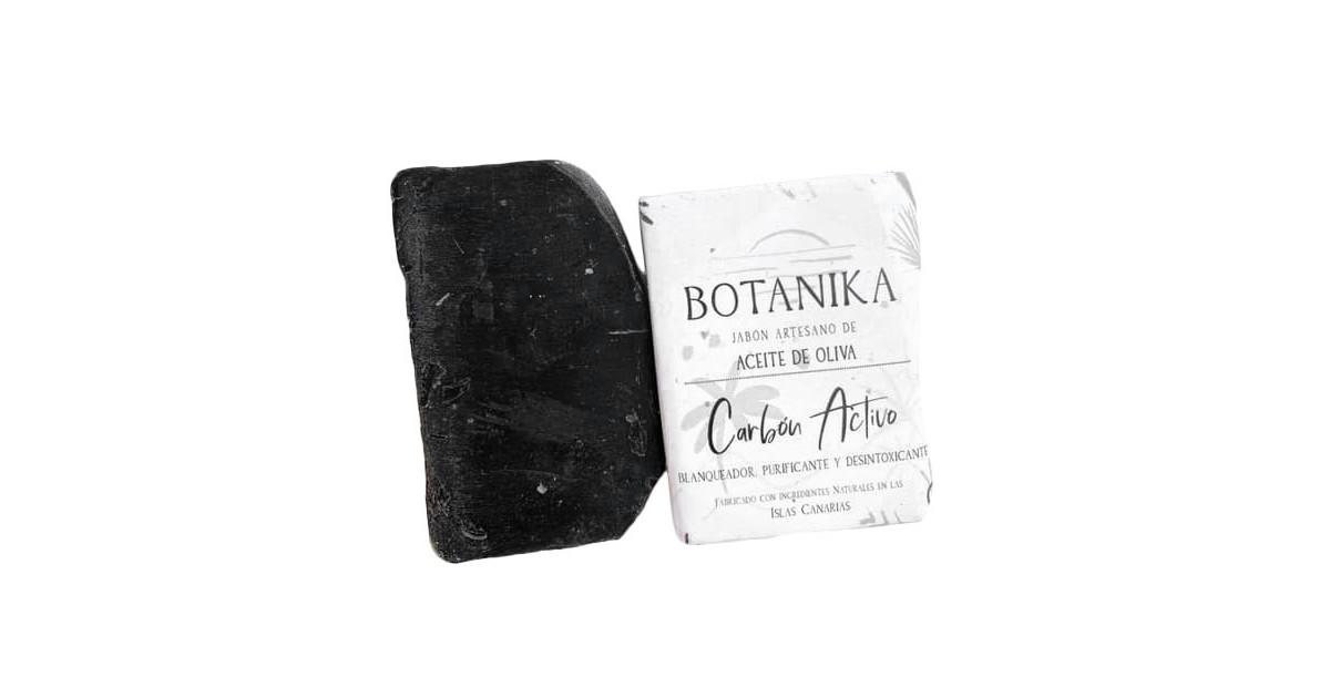 Jabón Sólido Artesano - Carbón Activo