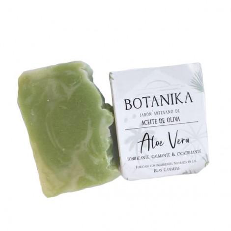 Jabón Sólido Artesano - Aloe Vera