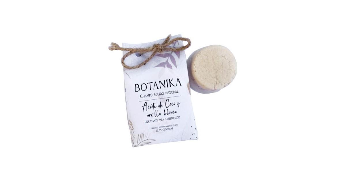 Champú Sólido Artesano - Aceite Coco y Arcilla Blanca