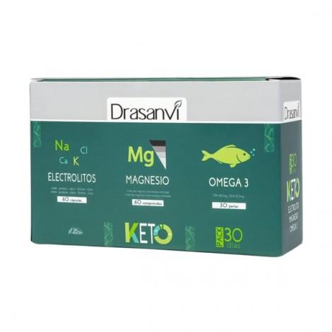 KETO - Pack Electrolitos, Magnesio y Omega 3