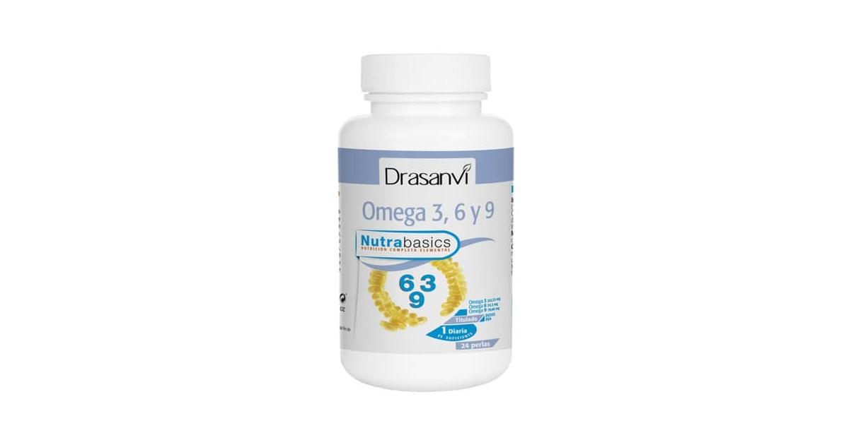 Nutrabasics - Omega 3, 6 y 9 - 24 perlas