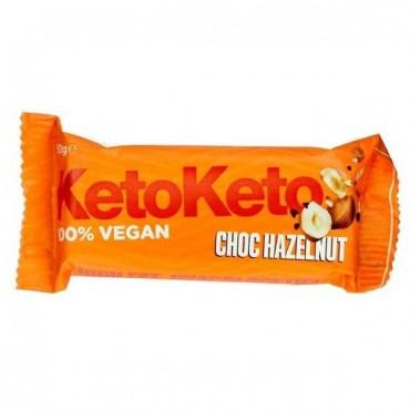 Keto - Barrita vegana - Avellanas y Cacao
